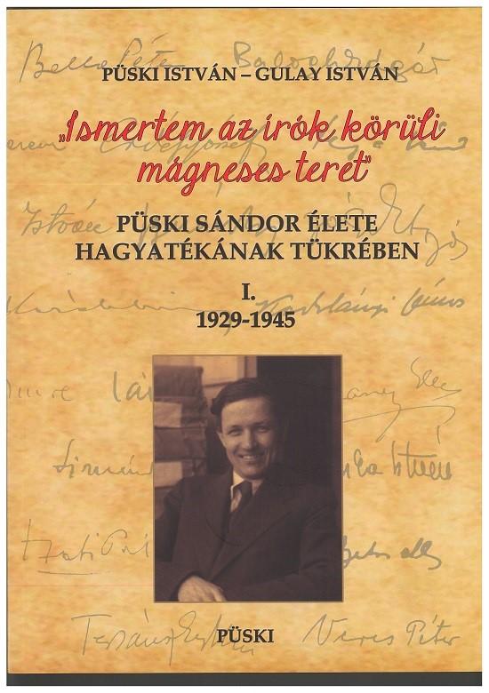 A Püski Sándorról szóló könyv borítója