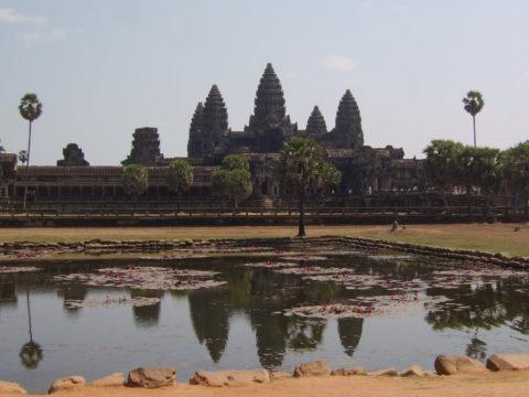 Kambodzsa, Angkor.